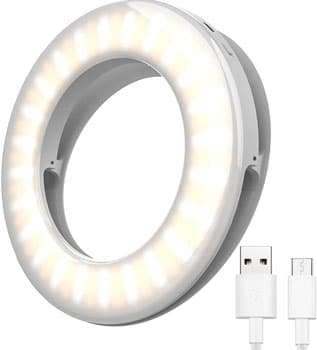 Laptop Ring Light for Video Conferencing