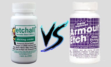 Etchall Vs Armour Etch